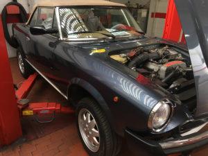 Restauro Auto d'epoca Roma Marconi - Auto Alfa